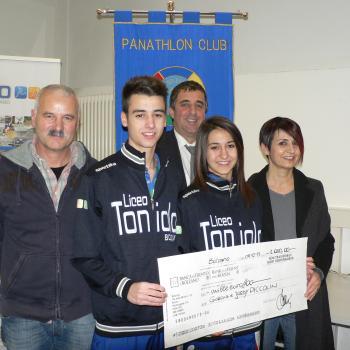 Panathlon, borse di studio ai fratelli Piccolin
