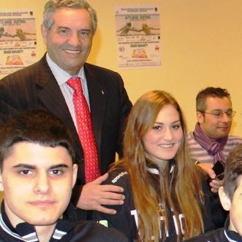Incontro con il vice presidente del Coni Giorgio Scarso