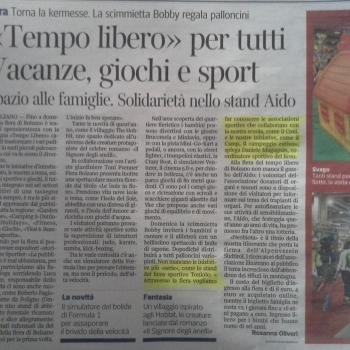 Il Corriere dell'Alto Adige parla di noi