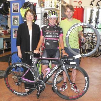 Ciclismo: nuova bici da crono a Elena Valentini